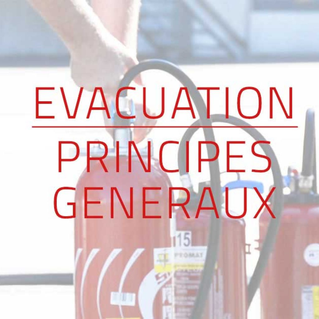 Visuel Formation evacuation