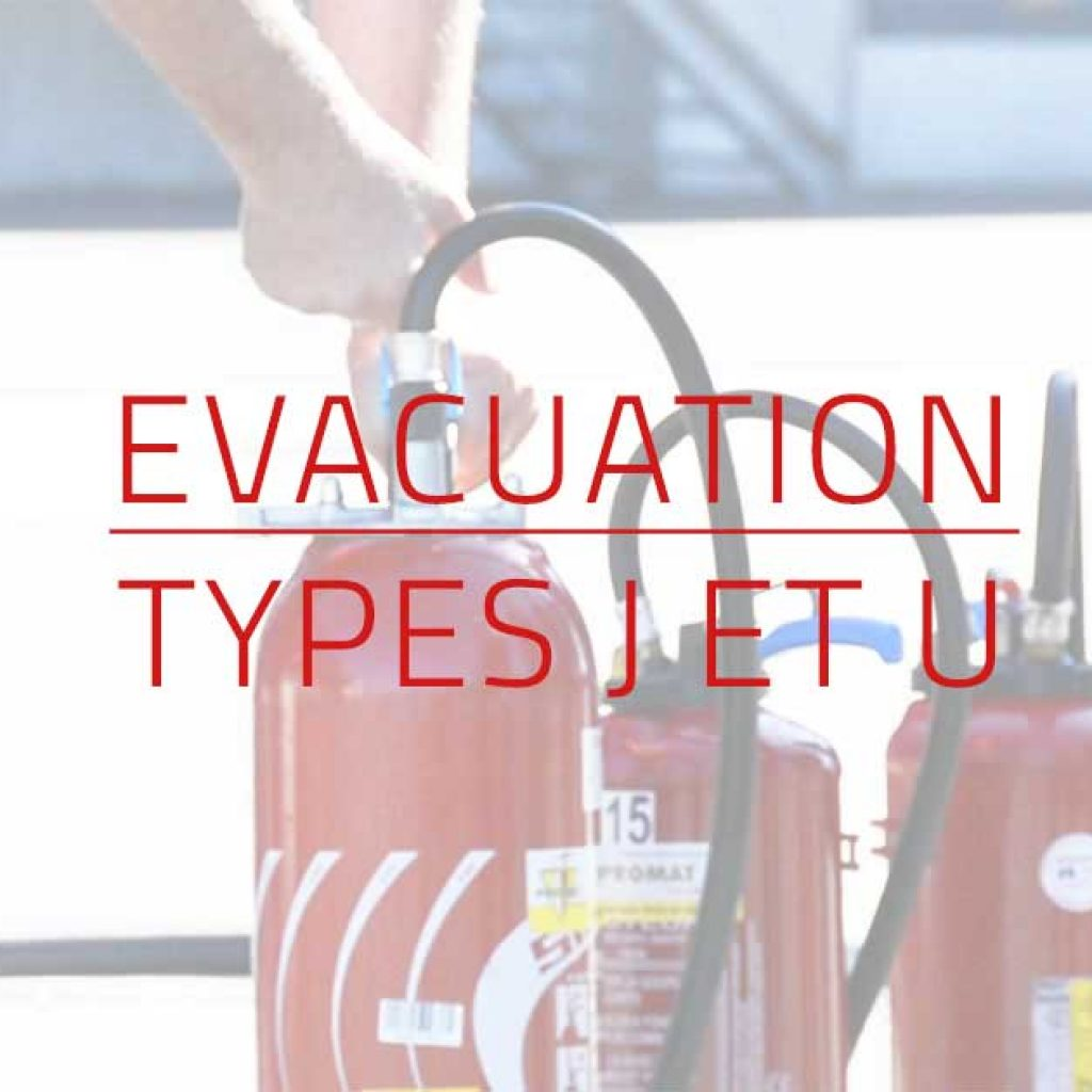 Visuel Formation evacuation type j et u