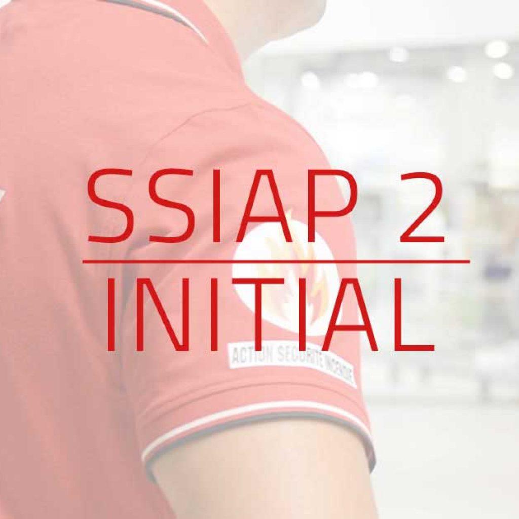 visuel Formation initiale SSIAP 2