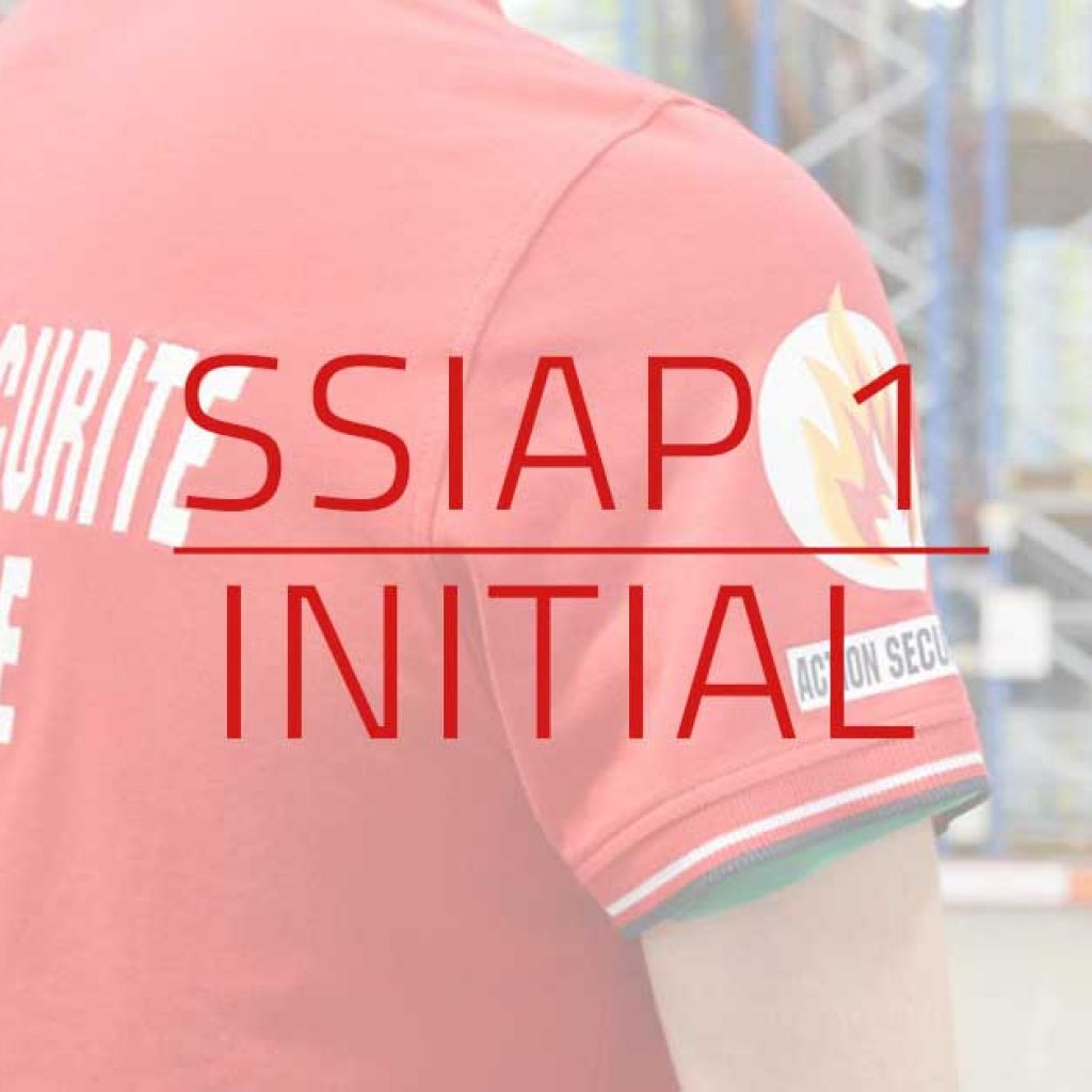 visuel Formation initiale SSIAP 1