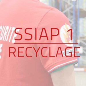 Recyclage SSIAP 1 les 17 et 18 Juin 2020