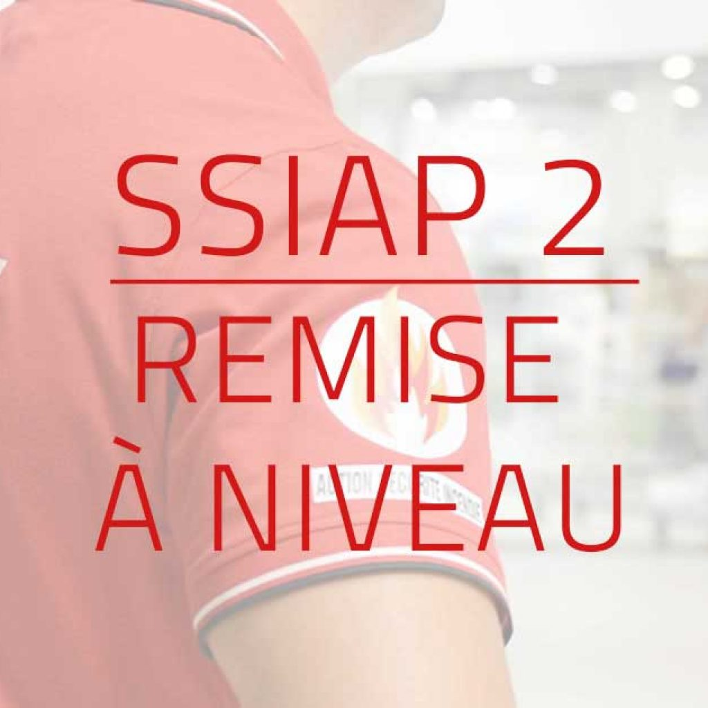visuel Formation remise à niveau SSIAP 2